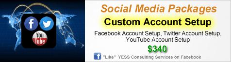 Custom Account Setup