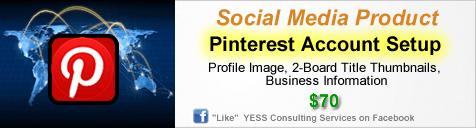 Pinterest Account